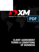 XMGlobal Client Agreement Terms and Conditions of Business