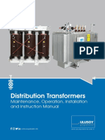 Transformer Maintenance Operation Installation Instruction Manual En