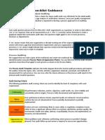 QMS Internal Audit Checklist Demo