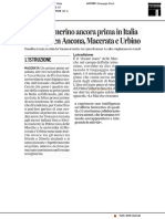 Atenei, ancora prima camerino. Nella top ten Ancona, Macerata e Urbino - Il Corriere Adriatico dell'8 luglio 2019
