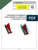 UTILISER LE MODELE 3D ET VISUALISER LA CIRCULATION DE L AIR SUR LA PALE.pdf