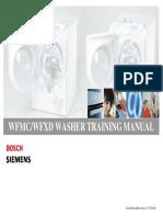 Bosch Siemens Wfmc Wfxd Training Manual
