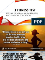physical fitness tes