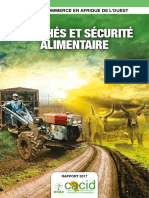 Marches Securite Alimentaire Ecao 2017