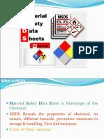 MSDS Training Presentation