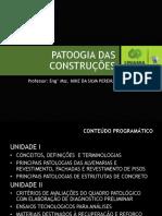 Aula 1 Patologia