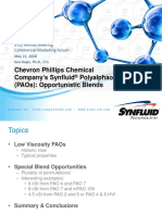 STLE2018_CMF I_Session 1B_K. Hope_Synfluid PAO Opportunistic Blends