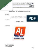 ANÁLISIS ESTRUCTURAL DE ANDAMIOS METÁLICOS