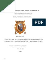 PROYECTO DE TESIS FACTORES QUE INFLUYEN EN LA PROSTITUCION INFANTIL EN LA AV MIGUEL IGLESIAS N°968.docx