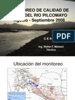 Villamontes Monitoreo Agua Pilcomayo