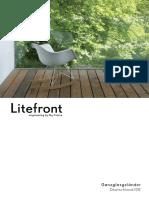 Litefront structural fences