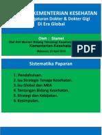 Kemenkes RI - Slamet MEA Makassar 23 April 18