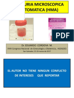 Hematuria Causas y Seguimiento Dr. Eduardo Córdova Masías