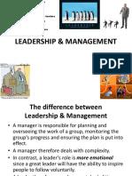 2.3-Leadership Styles & Management