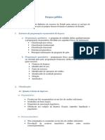 Despesa Publica - MACASP (Classif. Por Categorias)
