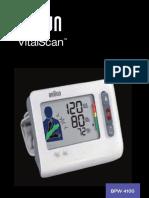 Braun BPW4100 VitalScan Blood Pressure Monitor