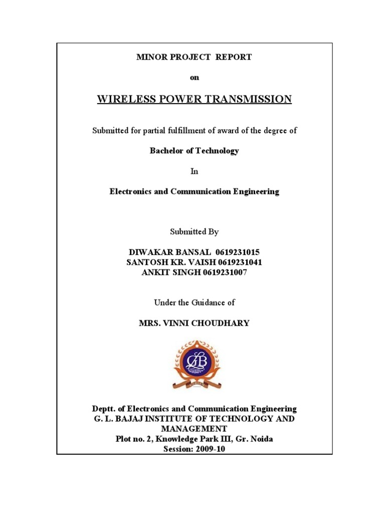 Wireless Electricity Transmission Project Report Manual Guide Patent Us20120248882 Power Receiver And Final Rectifier Capacitor Electric Charge Pdf