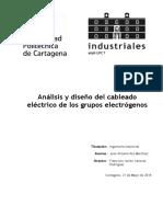 Analisis y Diseño de Cableado de Grupo Electrógeno