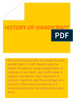 History of Handicraft