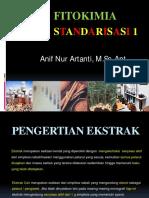 Kuliah 4- Standarisasi Ekstrak (1) (D3)
