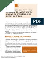 Memória (2a. Ed.) ---- (7 a Modulação Das Memórias Influência Do Nívelde Alerta Do Nível de an...)