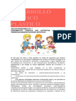 DESARROLLO GRÁFICO PLÁSTICO