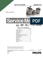 Philips MCD 900 Service Manual