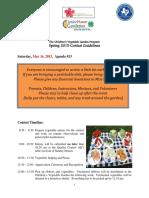 Spring 2015 Agenda 13