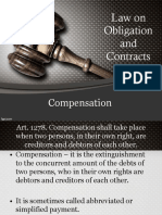Obligation and Contract Report