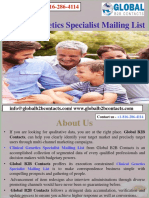 Clinical Genetics Specialist Mailing List