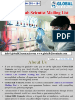 Clinical Lab Scientist Mailing List