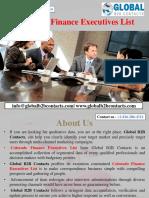 Colorado Finance Executives List