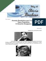 Blog Do Clovis - Tipos Populares de Aracaju - O Oscarito Sergipano-24!06!2019