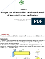 Chap5 MEF Poutres