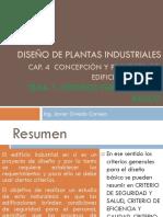 Diseño de Plantas Industriales CRITERIOS PARA DISEÑO BASICO (1)