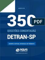 Questoes Comentadas Detran Sp 2019 Agente e Oficial Estadual de Transito