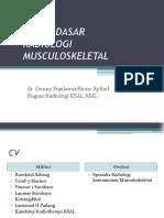 Dasar-dasar Radiologi Musculoskeletal - PDF