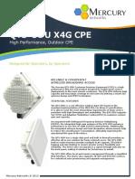 Mercury QTS-ODU CPE Datasheet 2015-10