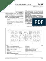 Manual de Taller Columbia, Unidad de Control de Instrumentos ICU4