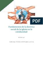 Fundamentos de La Doctrina Social de La Iglesia en La Cotidianidad Cyn Para Subir