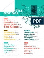 Forecastle Lineup Friday