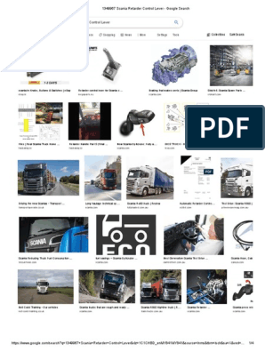 1349967 Scania Retarder Control Lever - Google Search pdf