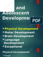 Physicalmotor Development Exceptional Development