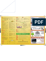 Davinci's Pizza And Pasta Menu Inside