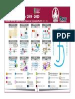 Calendario Ensfep Ce 2019 2020