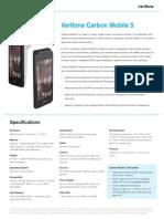 Carbon Mobile5 Datasheet Ltr 030818