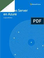 ES ES CNTNT eBook Azure Infrastructure Ultimate Guide to Windows Server on Azure