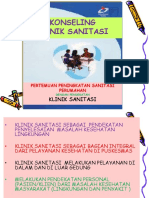 konseling klinik sanitasi