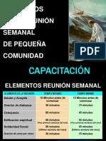 Elementos reunión Pña. Comunidad.ppt