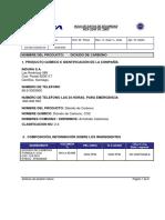 Dioxido de Carbono HDS